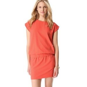 Diane von Furstenberg Tara dress in hot spice